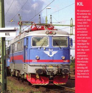 Spelet är producerat av P.K. Rusch och Jakob Rahm.  Järnvägsknuten Kil i Värmland föräras nu ett spel, där du får se till att tågen kommer och går som de ska. Kil är en stor station där Värmlandsbanan (Nordvästra stambanan) korsar Bergslagsbanan och banan till Torsby börjar. Det är livlig trafik hela dygnet, och då samtliga anslutande linjer är enkelspåriga ställer det stora krav på tågledaren. Linjen Kil – Karlstad är ett av Sveriges tätast trafikerade enkelspår. Man kan välja mellan tre olika nivåer då man spelar. Från lätt till svår. Lyckas man bra får man pluspoäng – annars inte. Övning ger färdighet. Spelet är inte lika omfattande som Norrköpingsfjärren och Hallsbergsfjärren som omfattar hela landsdelar som styrs från dessa fjärrställverk. Kil är en station, men stor och med många tåg. Spelets systemkrav är Windows 98/Vista/XP. Skärmupplösning 1024×640. 200 MB ledigt utrymme. 500 MHz processor. 64 MB ram.