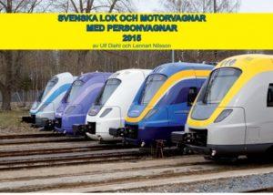 Aktuell förteckning över alla lok, motorvagnar, personvagnar, spårvagnar och tunnelbanevagnar som trafikerar svenska spår 2015.  Boken visar tekniska data och bilder på alla aktuella fordonstyper och interiörskisser av motorvagnar och personvagnar och med de flesta färgsättningar som används.